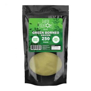 Earth Kratom Green Borneo Capsule