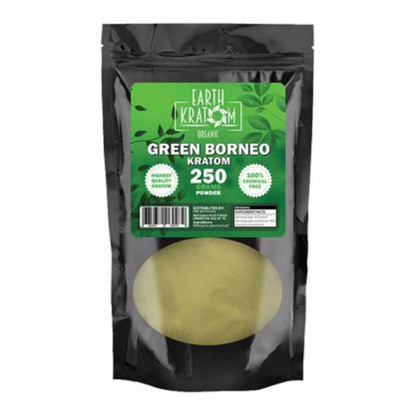 Earth Kratom Green Borneo Capsule