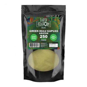 Earth Kratom Green Hulu Kapuas Capsules