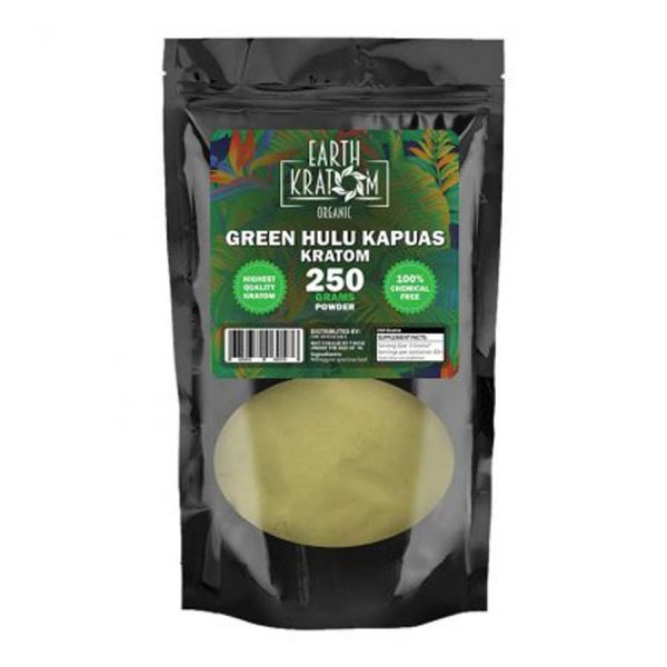 Earth Kratom Green Hulu Kapuas Capsules | Kratom Guys
