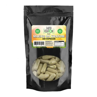 Green Maeng Da Capsules By Earth Kratom