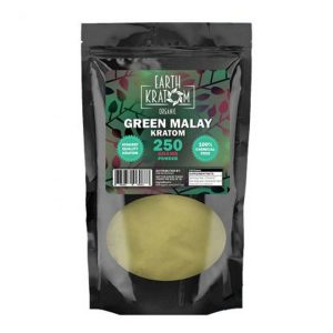 Earth Kratom Green Malay Capsules