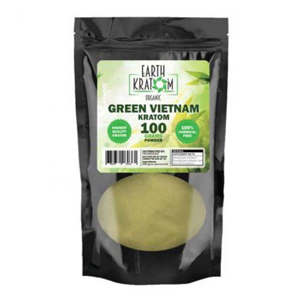 Earth Kratom Green Vietnam Capsules