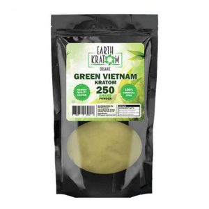 Earth Kratom Green Vietnam Capsules