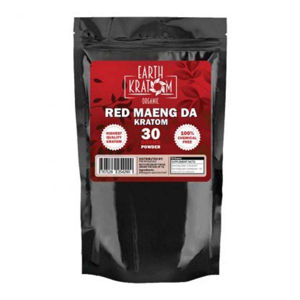 Red Maeng Da Capsules By Earth Kratom