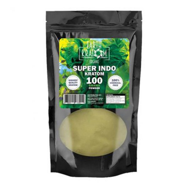 Earth Kratom Super Indo Capsules