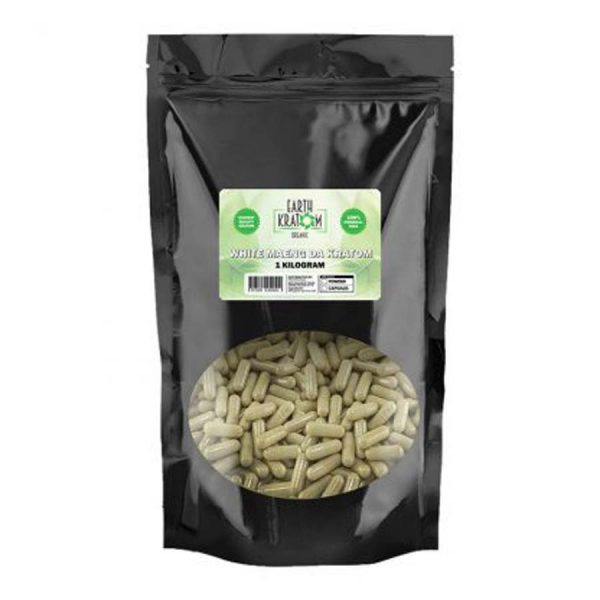 White Maeng Da Capsules By Earth Kratom