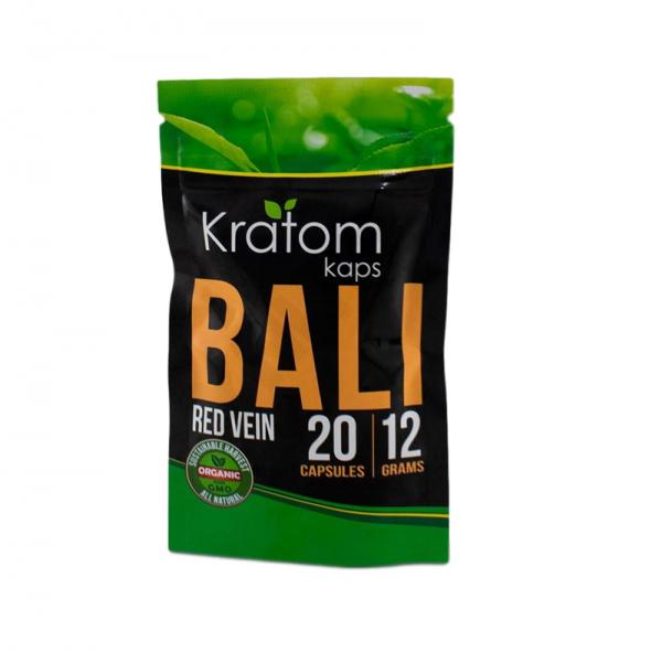 Kratom Kaps Red Vein Bali Capsules | Kratom Guys