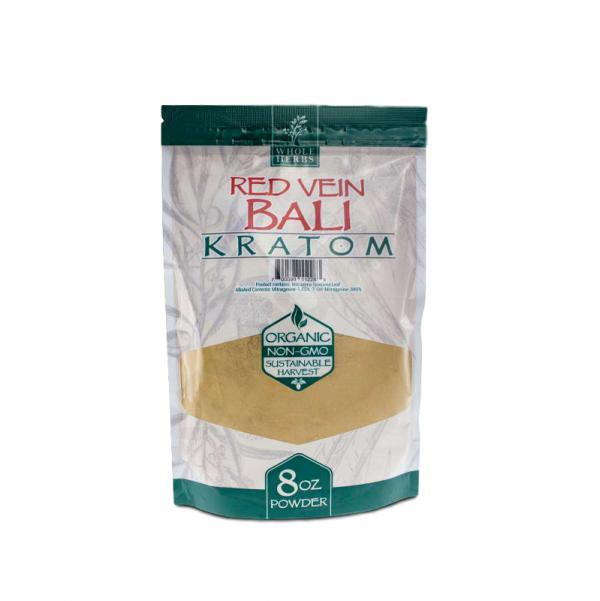 Whole Herbs Red Vein Bali Kratom Powder