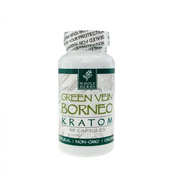 Whole Herbs Green Vein Borneo Capsules