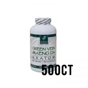 Whole Herbs Green Vein Maeng Da Kratom Capsules