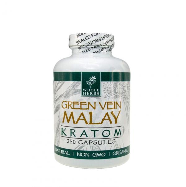 Whole Herbs Green Vein Malay Capsules