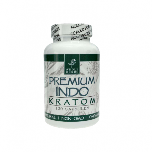 Whole Herbs Indo Kratom Capsules