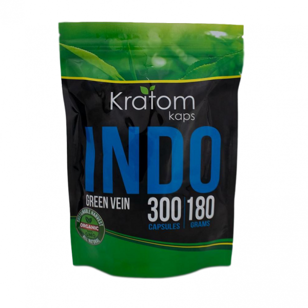 Kratom Kaps Green Vein Indo Capsules