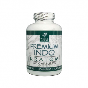 Whole Herbs Indo Kratom Capsules | Kratom Guys