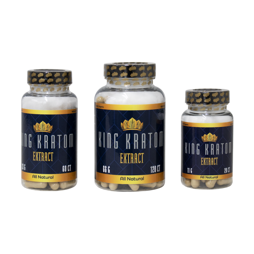 King Kratom ( Kratom Extract ) Capsules