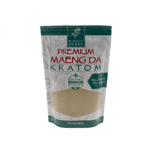 Whole Herbs Premium Maeng Da Kratom Powder