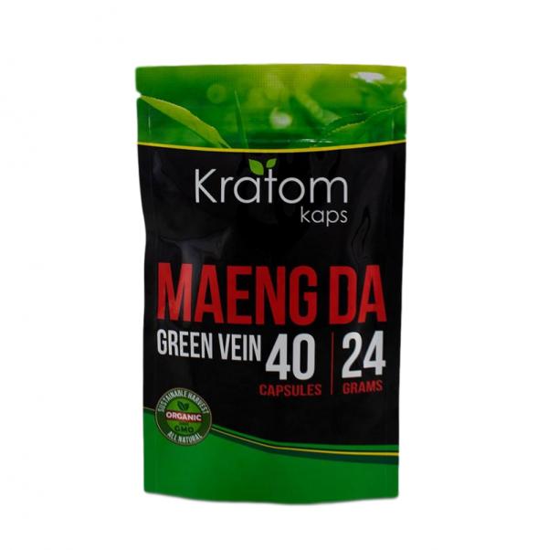 Kratom Kaps Green Vein Maeng Da Capsules