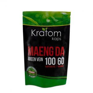 Kratom Kaps Green Vein Maeng Da Capsules | Kratom Guys