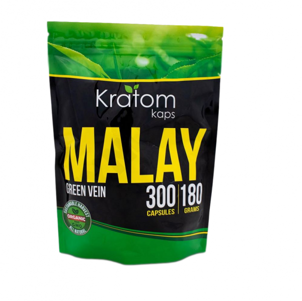 Kratom Kaps Green Vein Malay Capsules