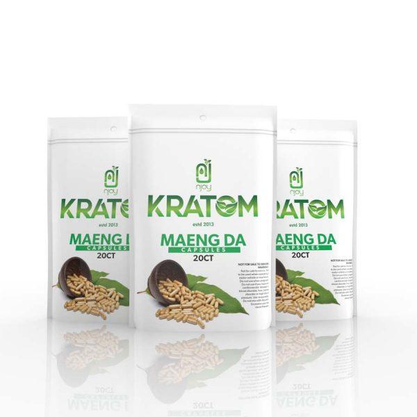NJOY Kratom Bali Capsules | Kratom Guys