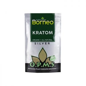 OPMS Silver Super Green Borneo Kratom Powder