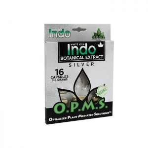 OPMS Silver White Vein Indo - Blister Box