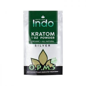 OPMS Silver White Vein Indo Kratom Powder