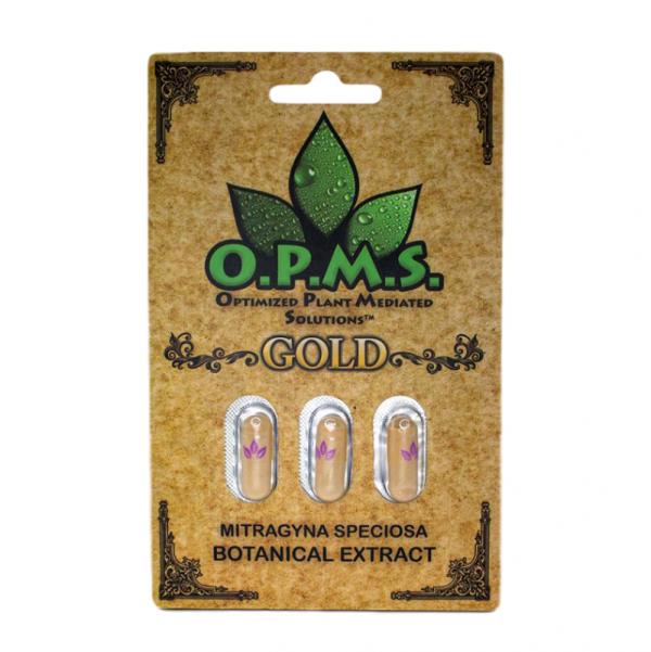OPMS Gold Kratom Capsules