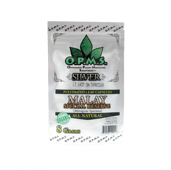OPMS Silver Green Vein Malay Special Capsules