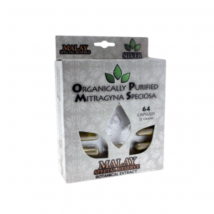 OPMS Silver Green Vein Malay Blister Box Capsules