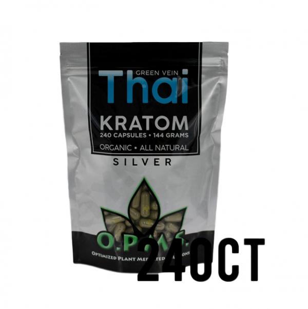 OPMS Silver Green Vein Thai Capsules