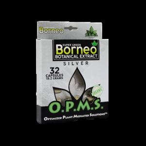 OPMS Silver Super Green Borneo Blister Box Capsules