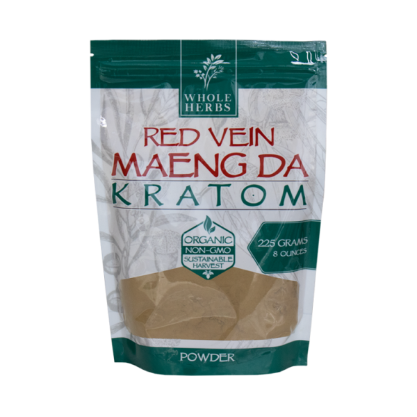 Whole Herbs Red Vein Maeng Da Kratom Powder
