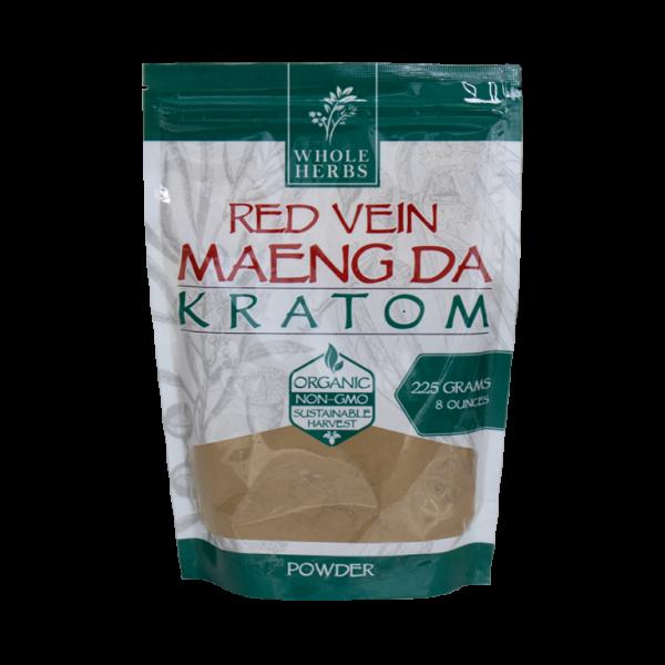 Whole Herbs Red Vein Maeng Da Kratom Powder | Kratom Guys