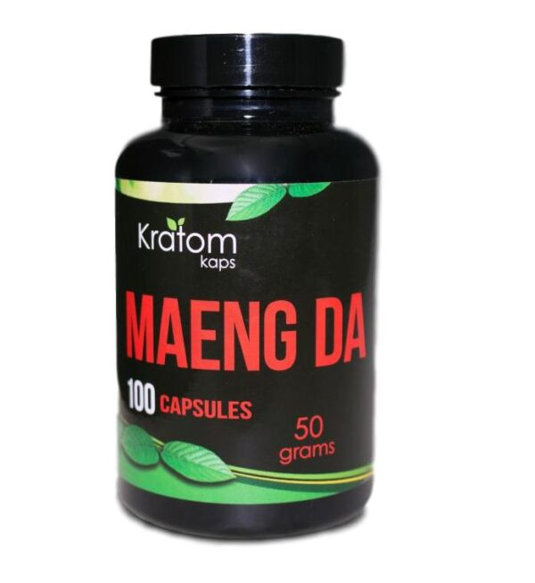 Kratom Kaps Maeng Da Capsules