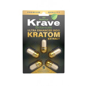Gold Extract Capsules By Krave Kratom