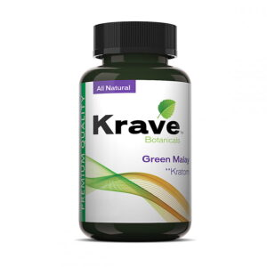 Green Malay Capsules By Krave Kratom