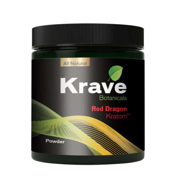 Red Dragon Capsules By Krave Kratom