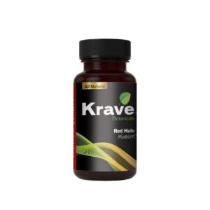 Red Hulu Capsules By Krave Kratom