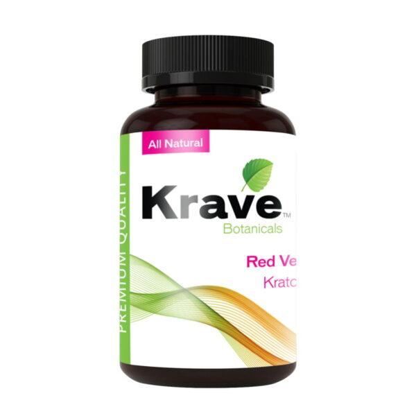 Red Vein Capsules By Krave Kratom