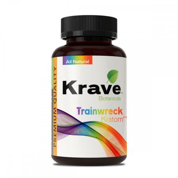 Trainwreck Capsules By Krave Kratom