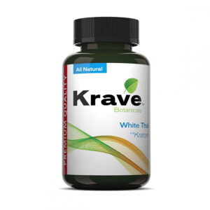 White Thai Capsules By Krave Kratom