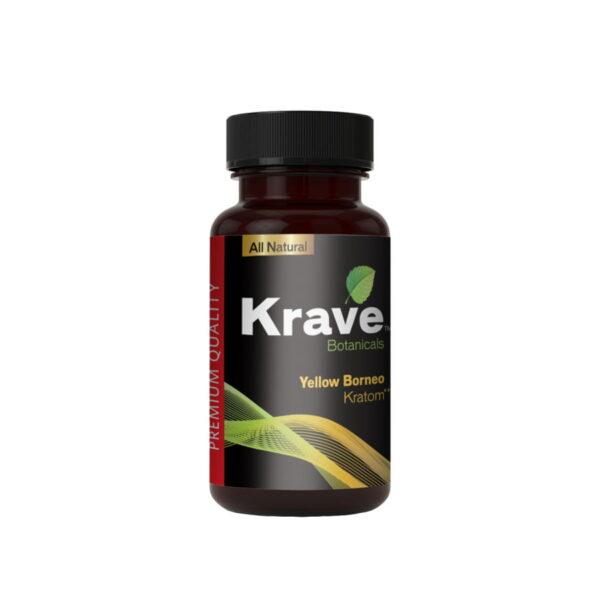 Yellow Borneo Powder By Krave Kratom