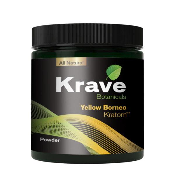 Yellow Borneo Capsules By Krave Kratom