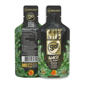 MITgo  - Black Extra Strength Kratom Gel Extract (12pk)