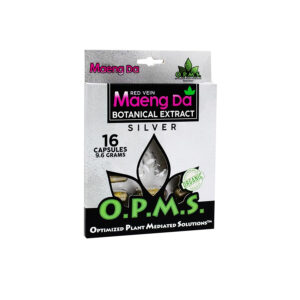 OPMS Red Vein Maeng Da Blister Pack Capsules