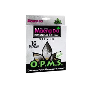 OPMS Red Vein Maeng Da Blister Pack Capsules