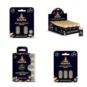 Maha Kratom Gold Extract