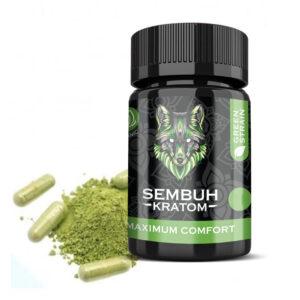 Sembuh Kratom Green Strain Capsule - Maximum Comfort
